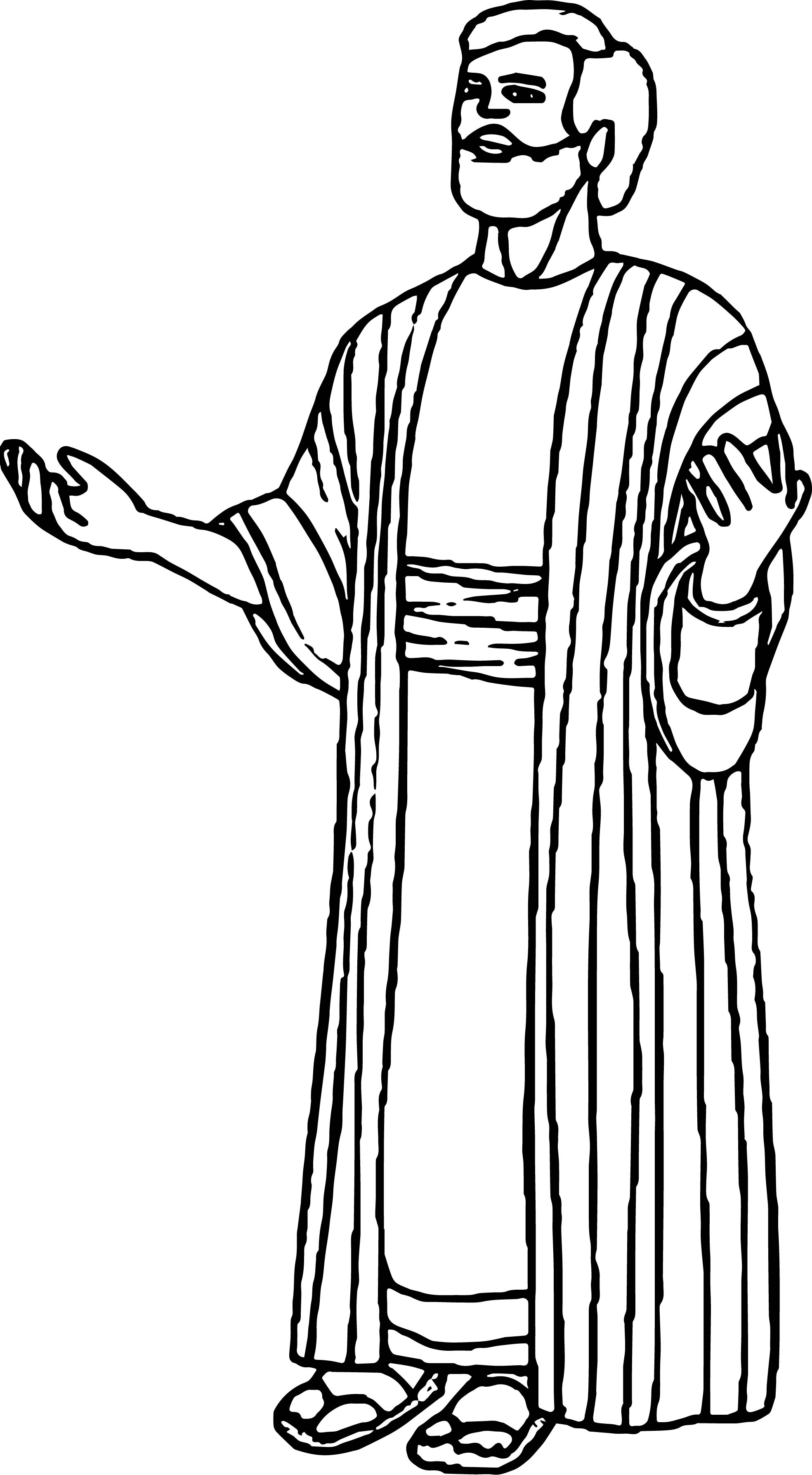 Apostel Paul Coloring Page Coloring Pages