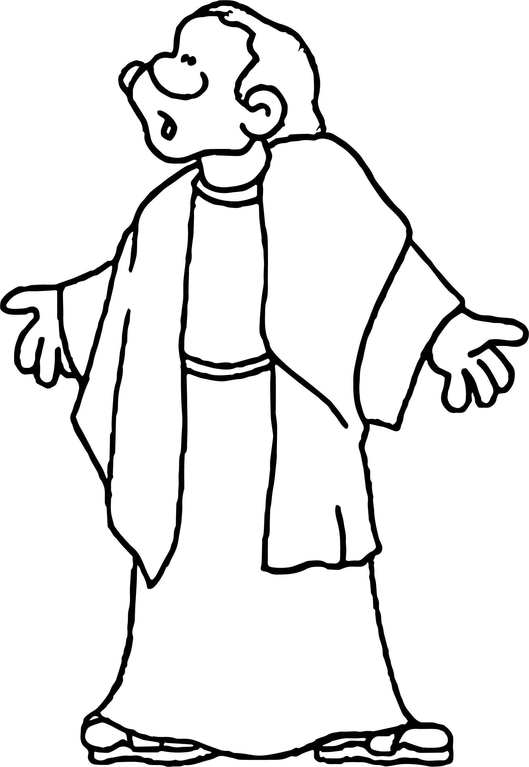 Apostle Paul Coloring Page Coloring Pages