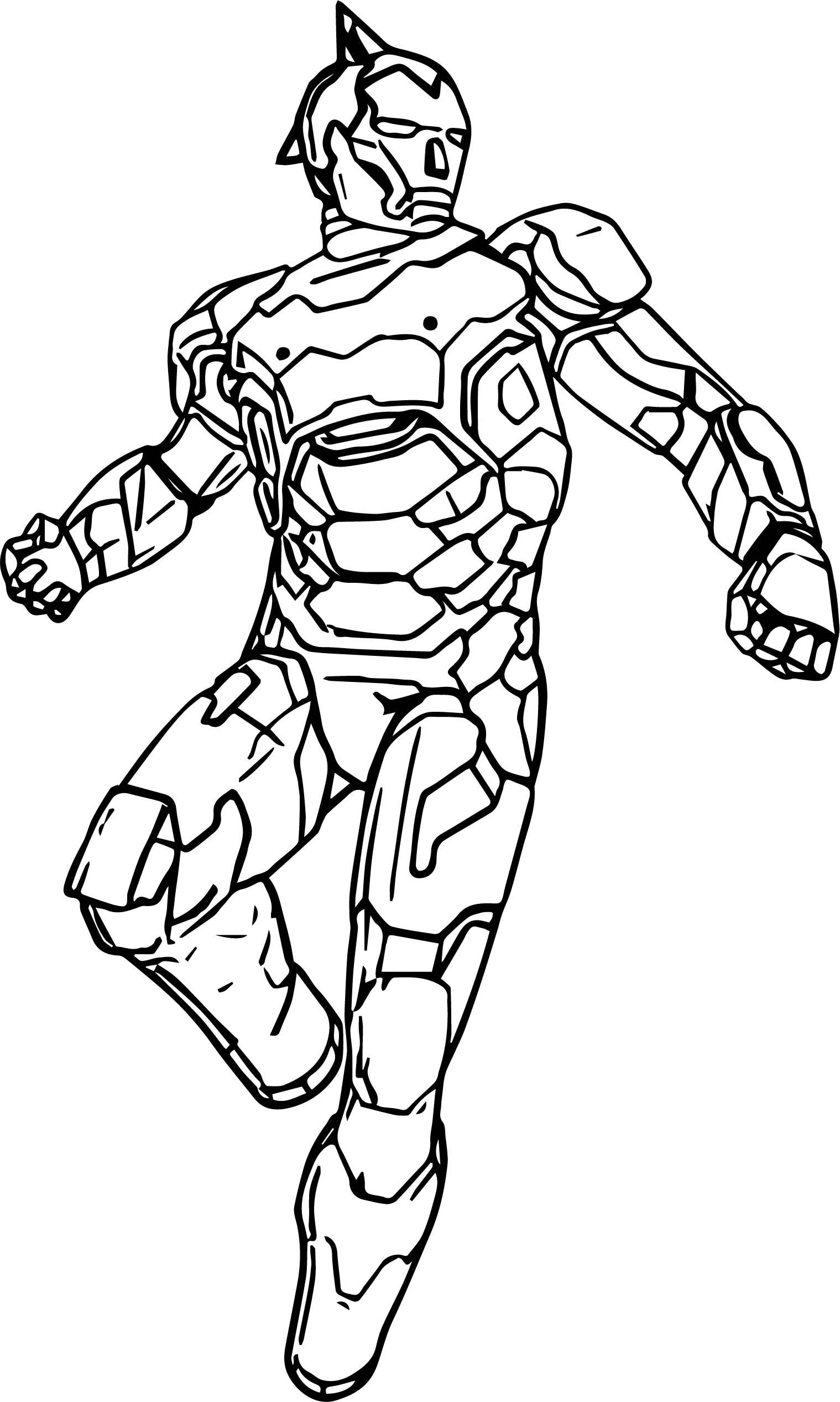 Atom Robot Coloring Page Coloring Pages