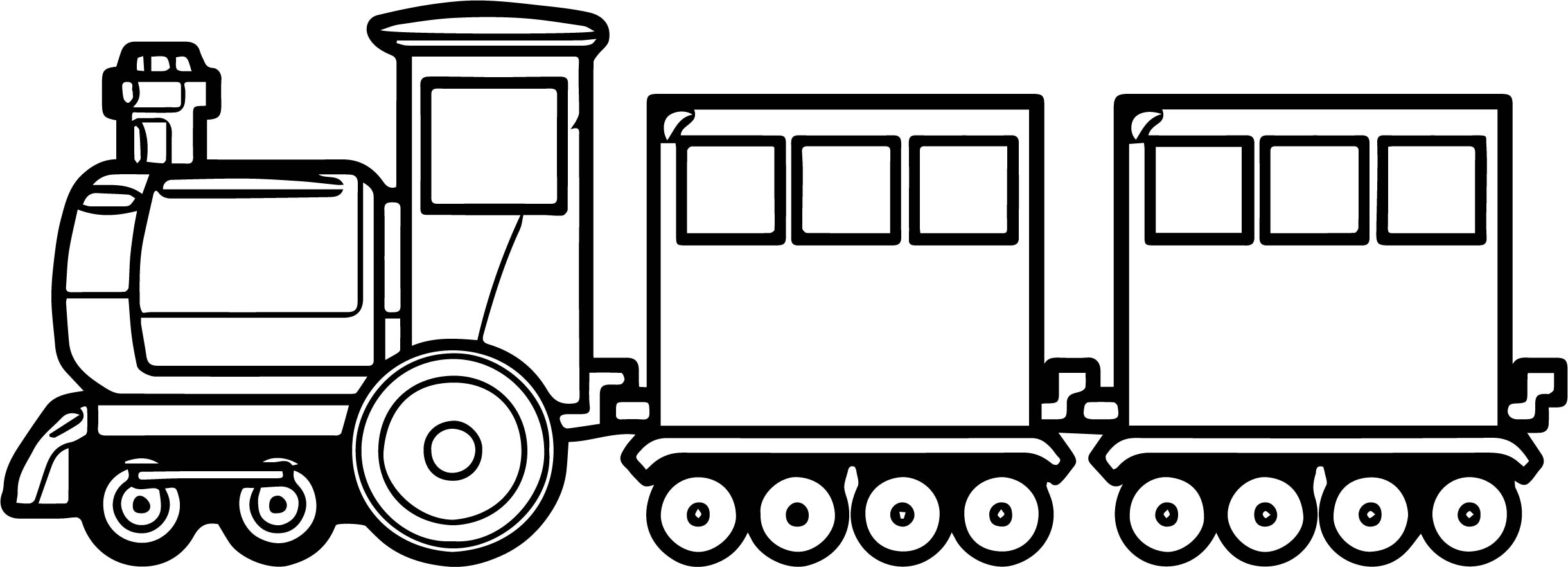 Train Box Car Pages Coloring Pages