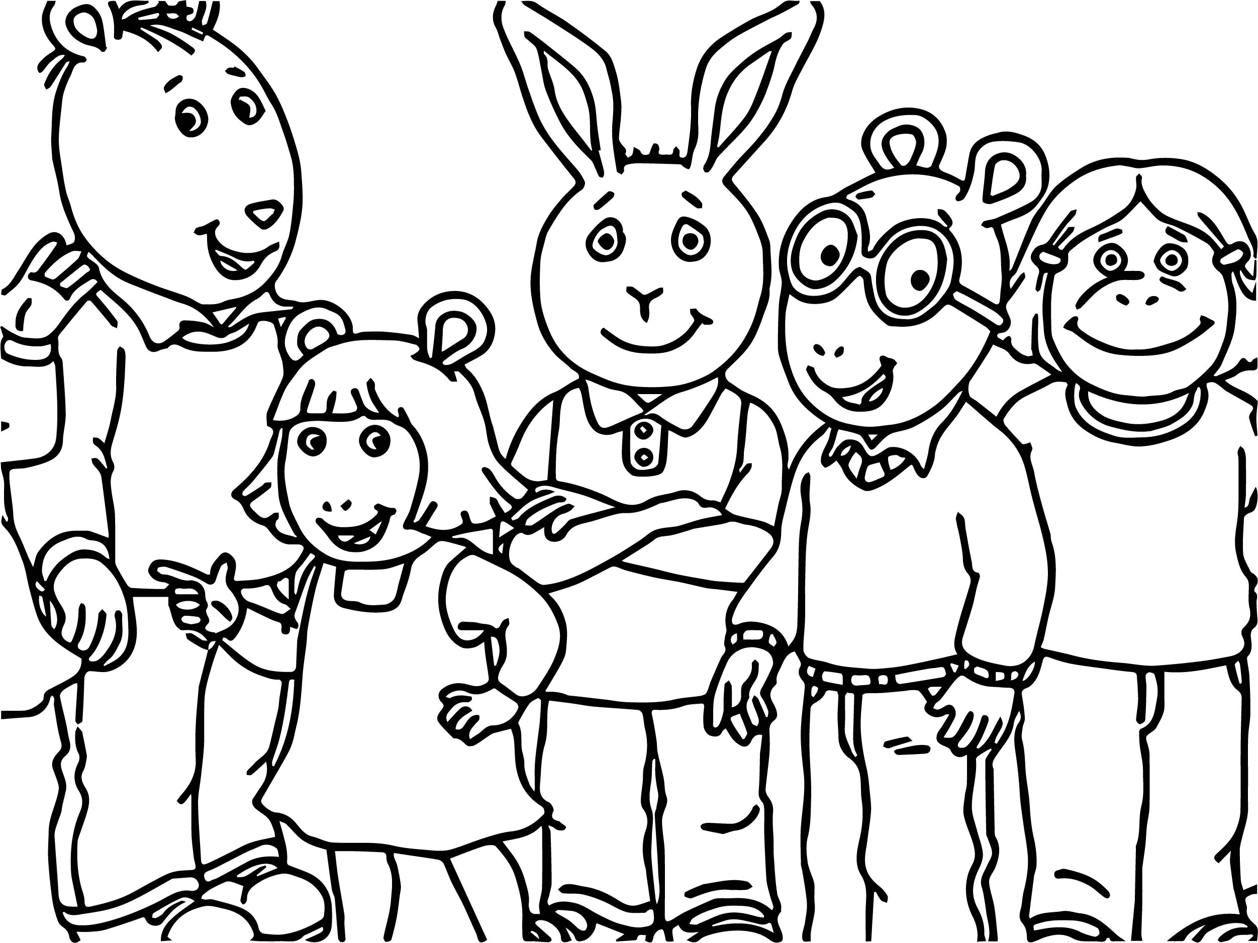 Wedding Coloring Book Family Friend Coloring Pages