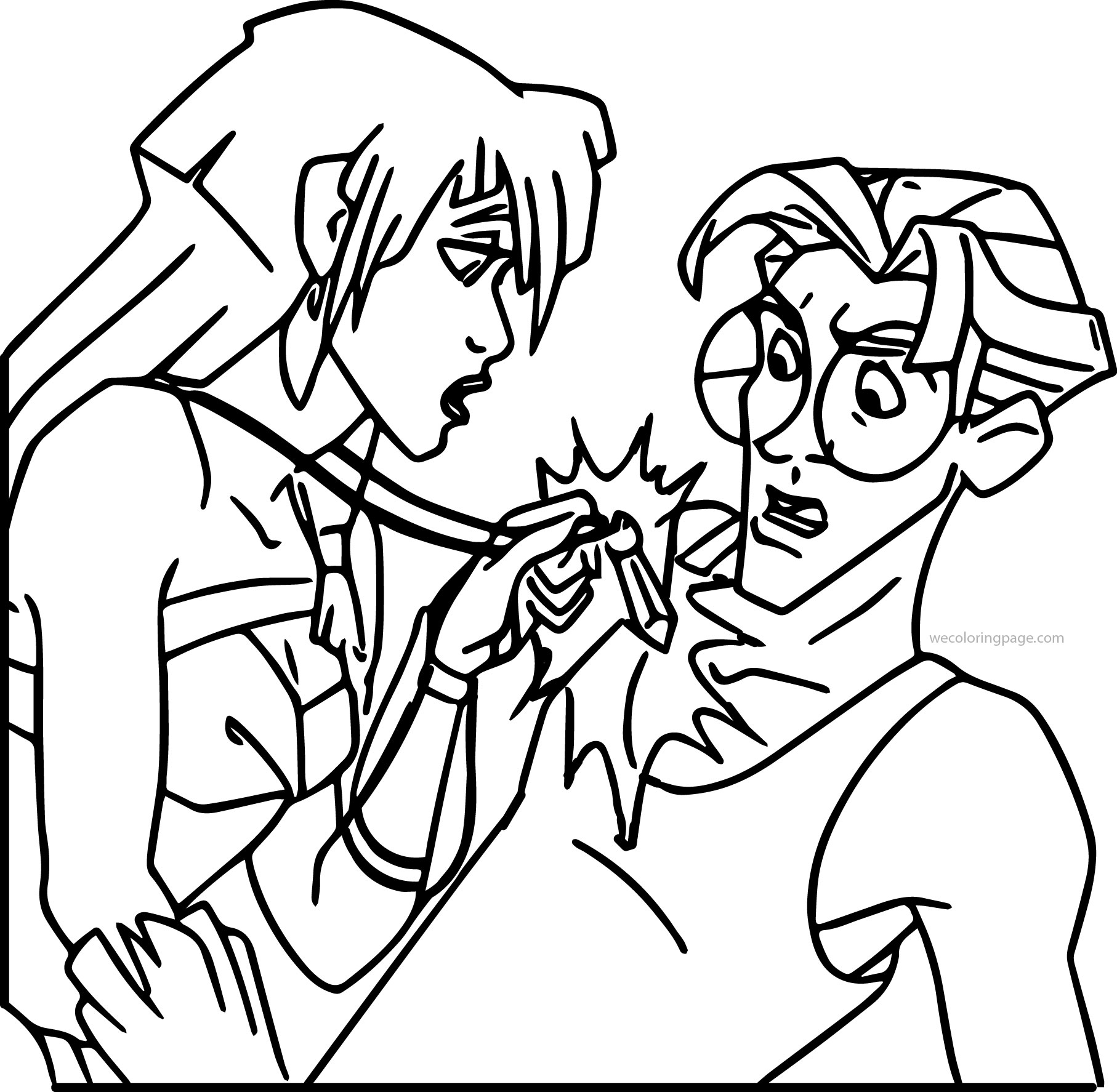 Plaidypus Lost Pages Coloring Pages