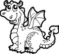 Full hd cartoon dragon coloring page of page laptop pics