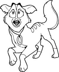 Balto Star Wolf Coloring Page | Wecoloringpage.com