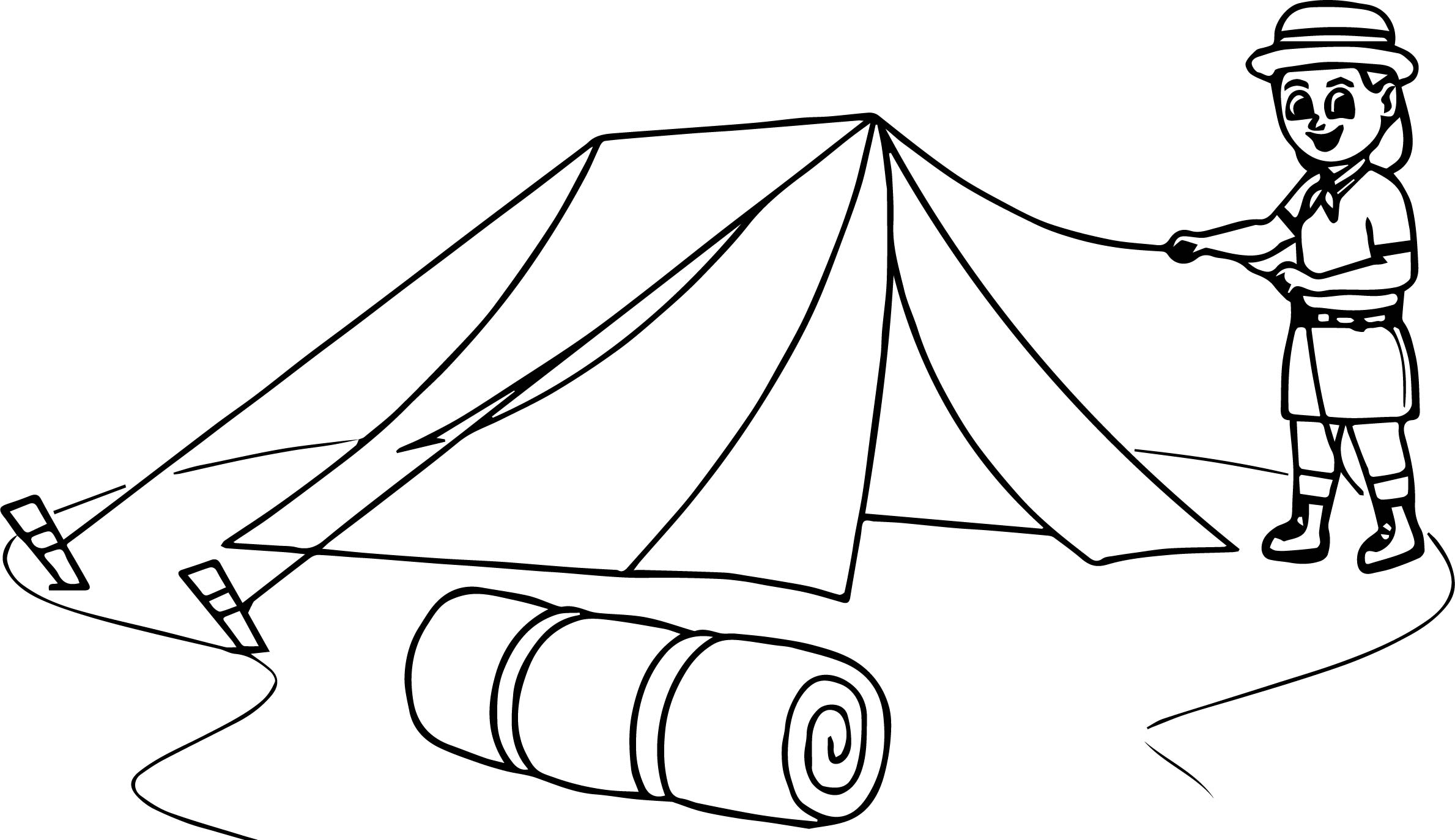 Boy Scout Pages Coloring Pages