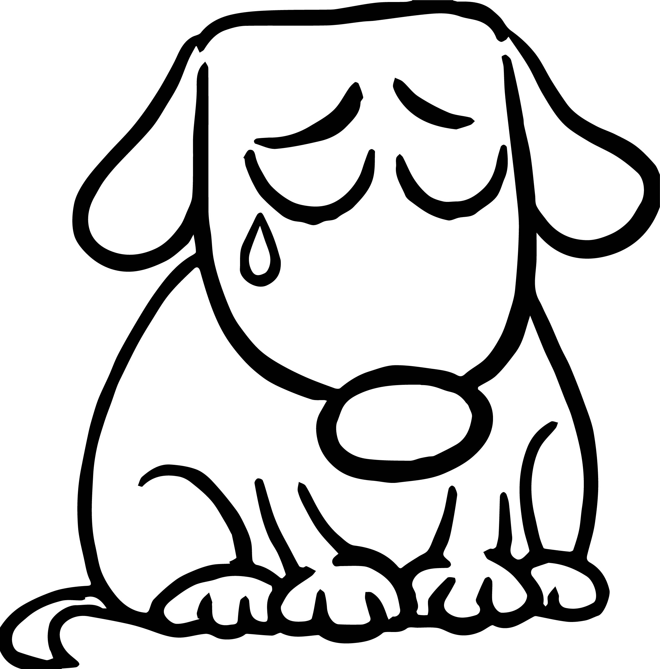 Cute Puppy Love Coloring Pagesd Puppy Cartoon