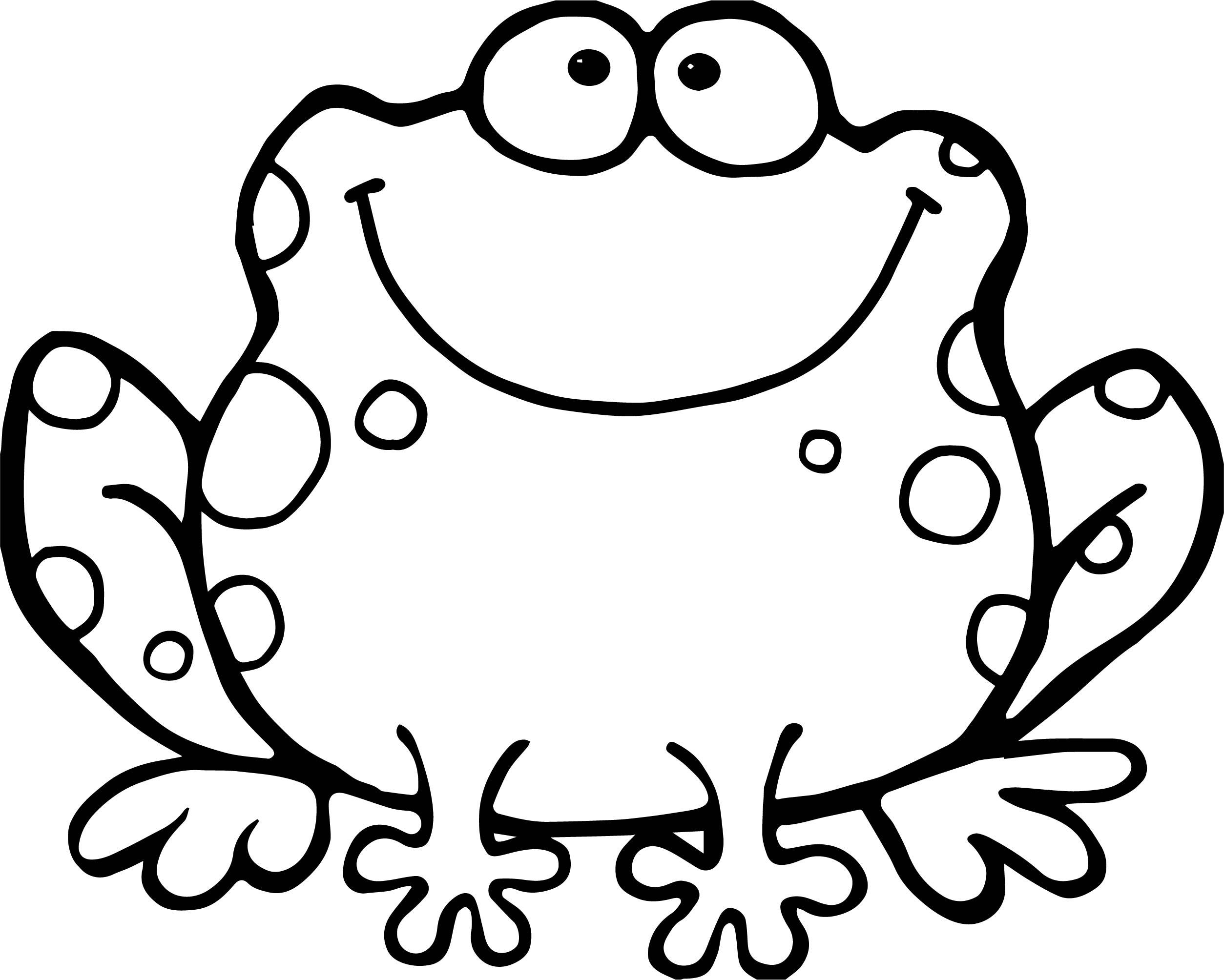 Big Frog Coloring Worksheets Coloring Pages