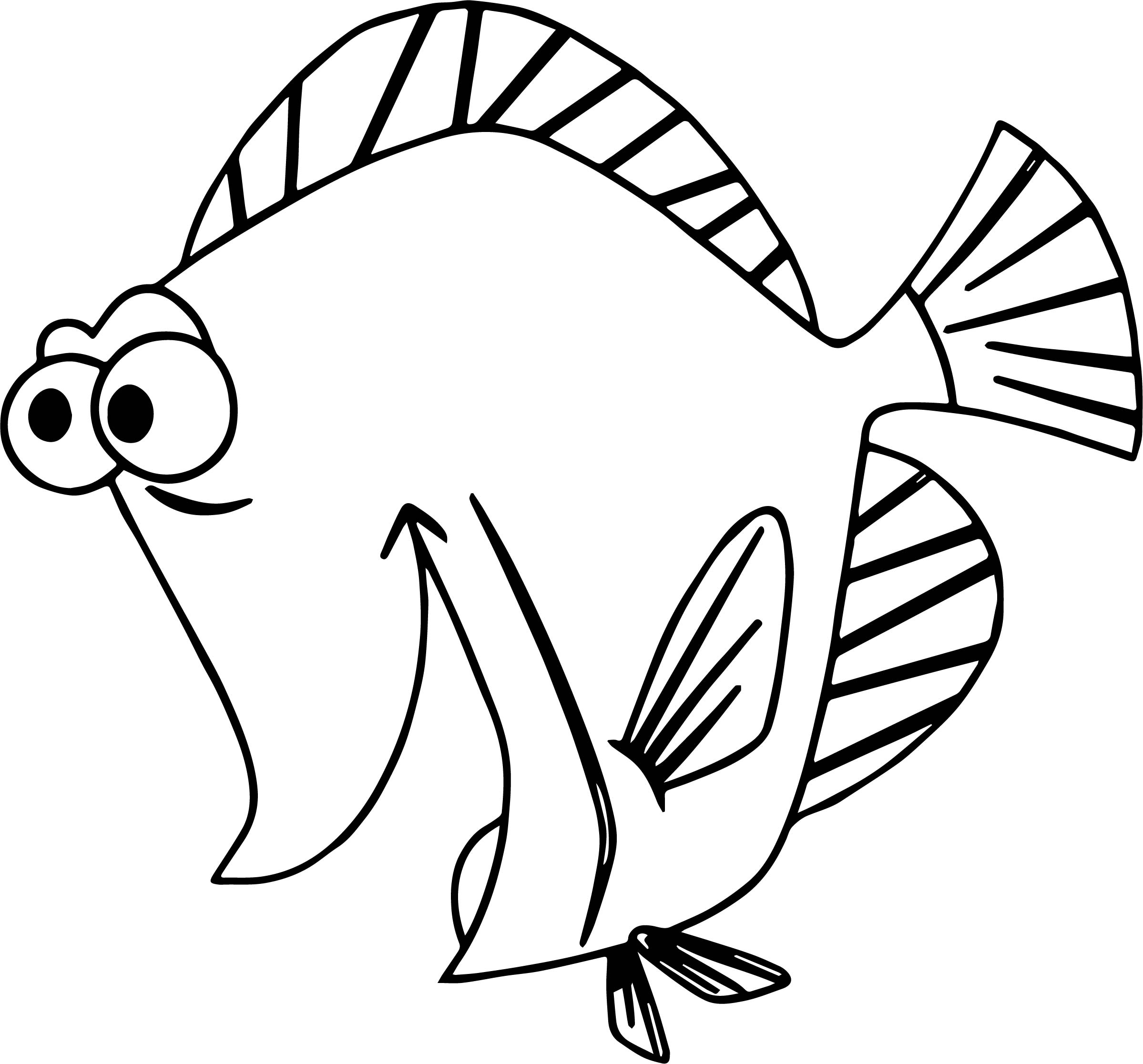 Disney Finding Nemo Bubbles Excited Coloring Pages Wecoloringpage