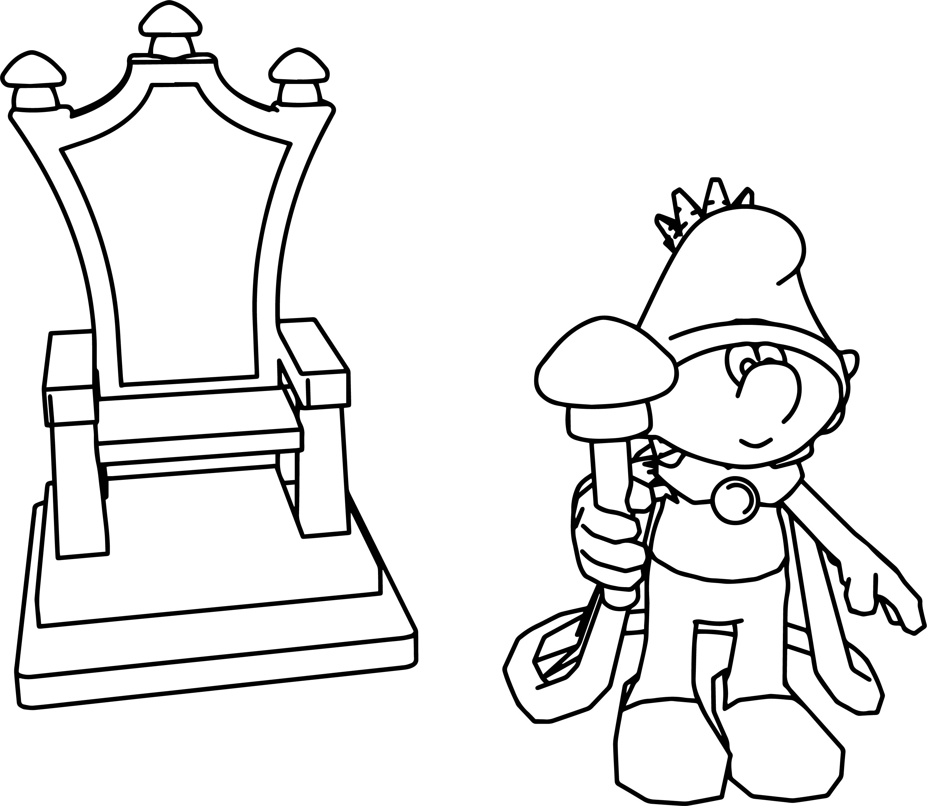 Kings Throne Coloring Page Coloring Pages