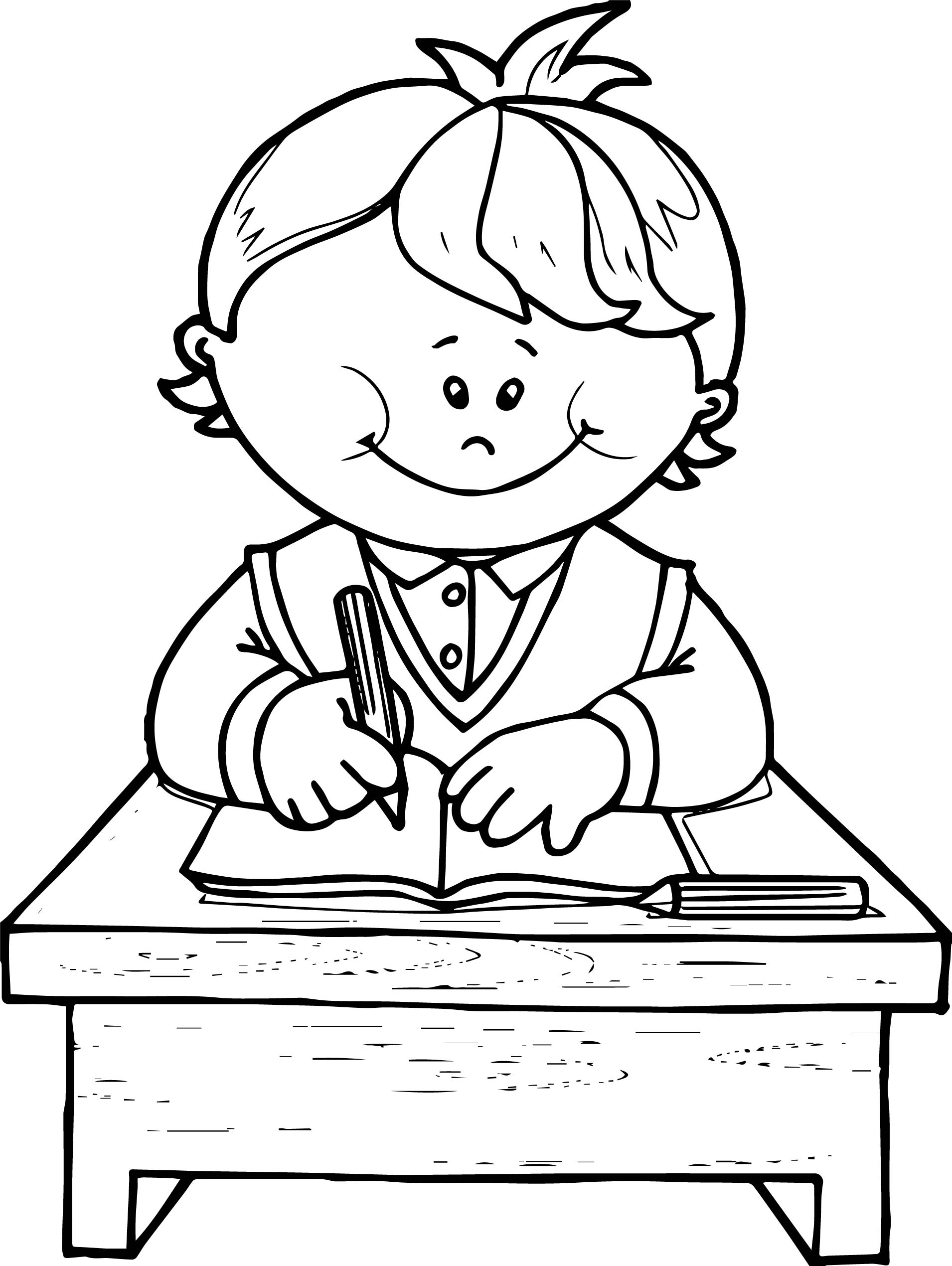 How To Write Journal Entry Clip Art Sketch Coloring Page
