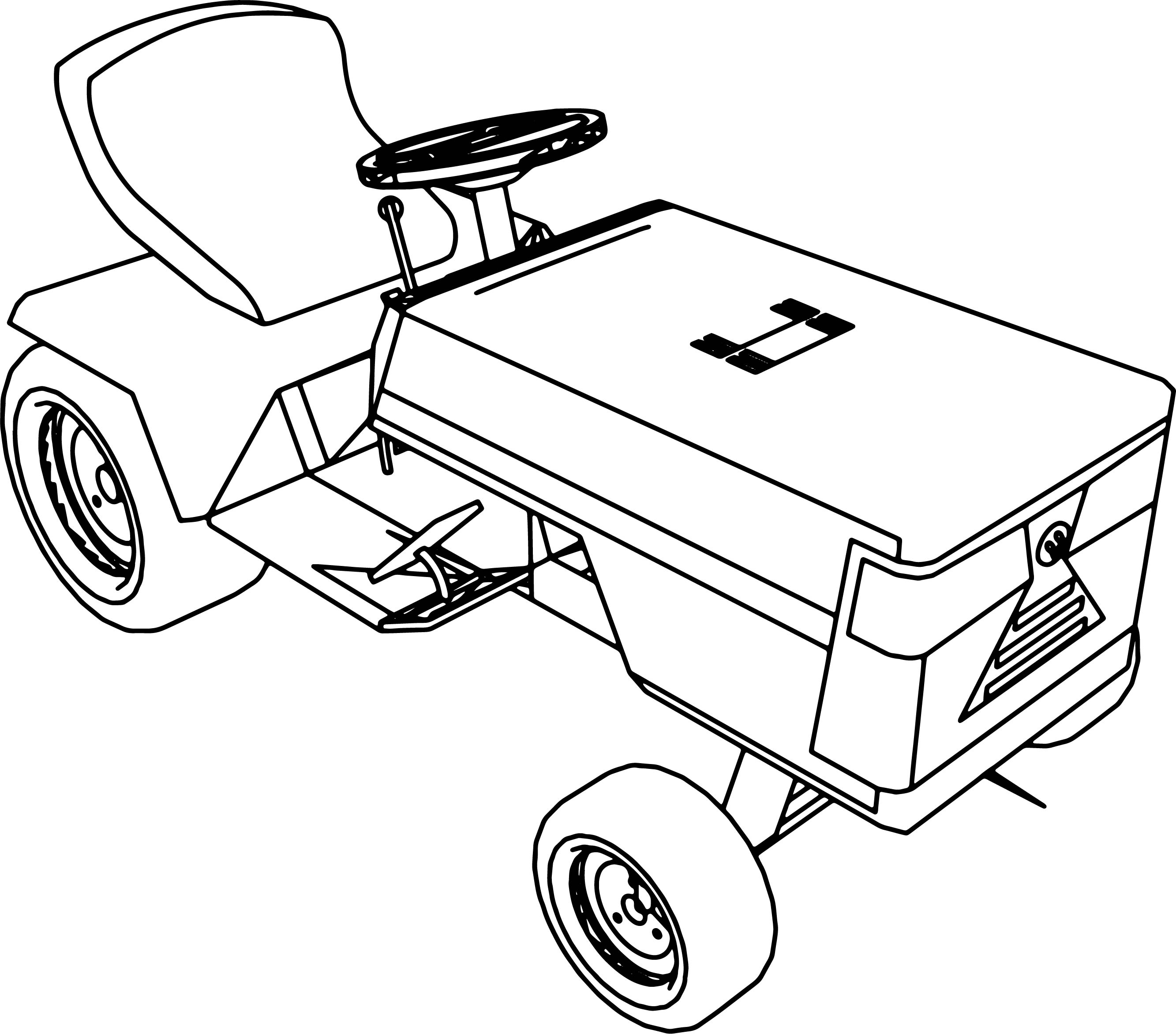 Up Graded Briggs And Stratton Craftsman Lawnmower Coloring