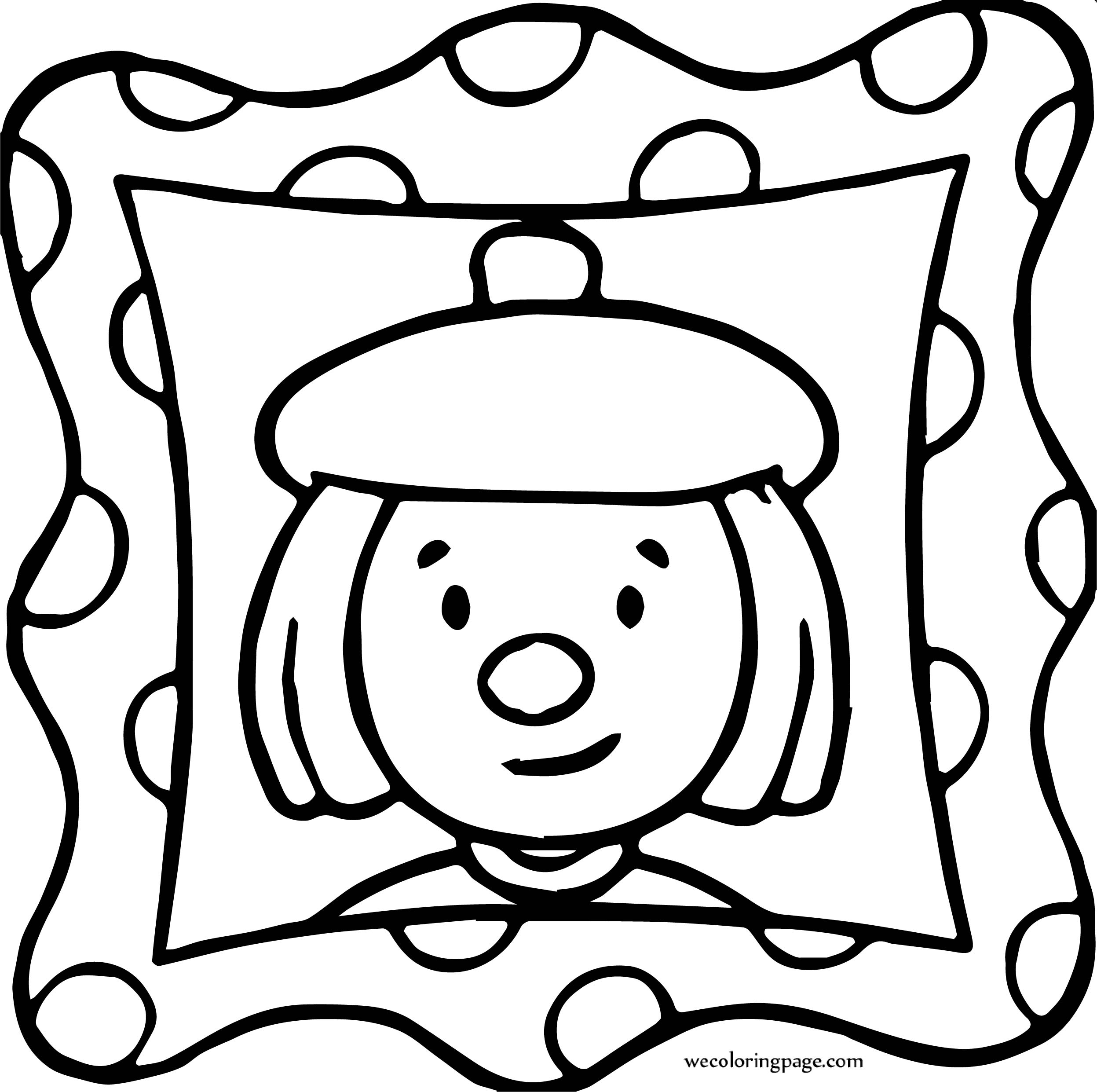 Circus Seal Coloring Page