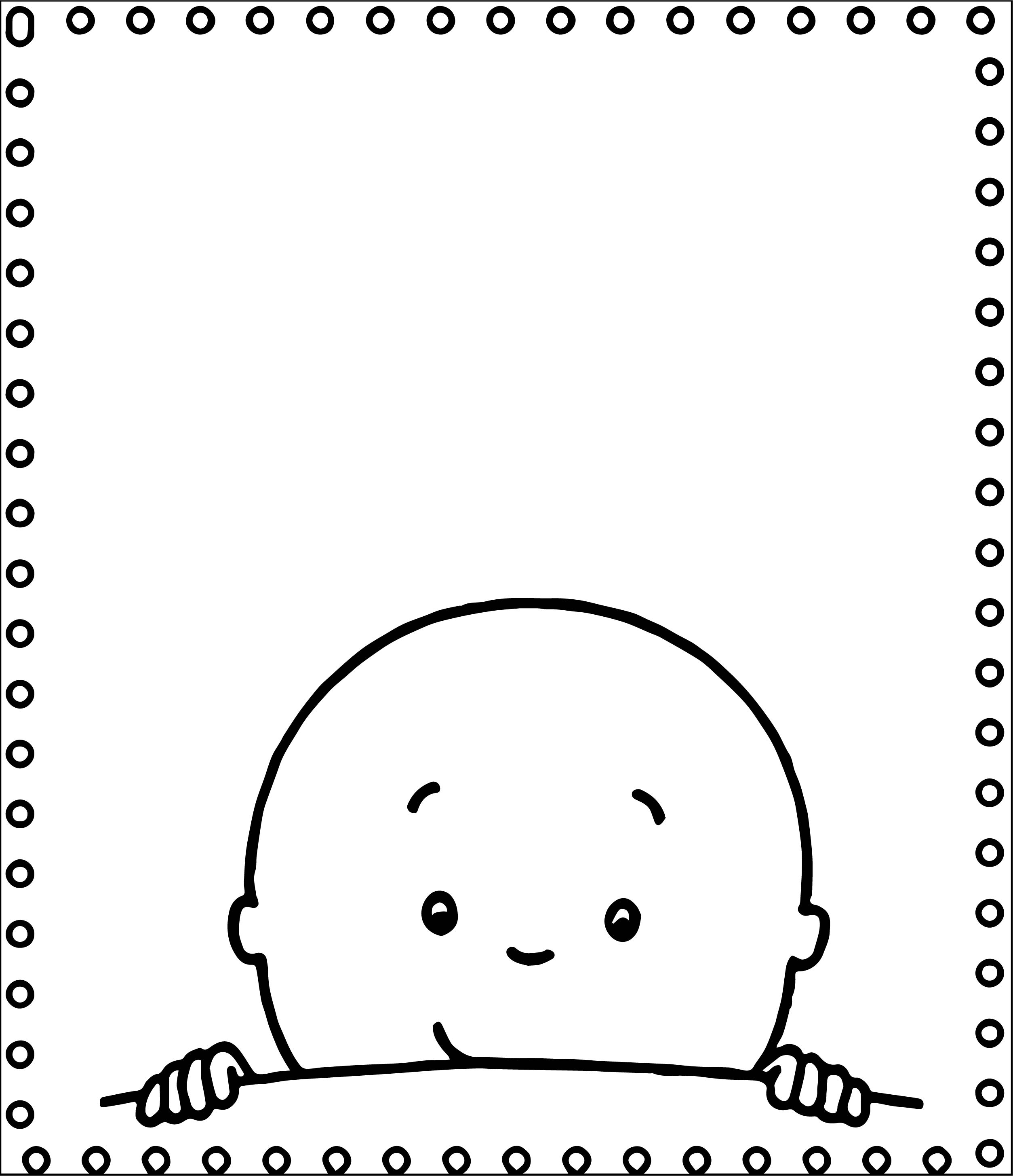 Caillou Write Print Sheet Coloring Page