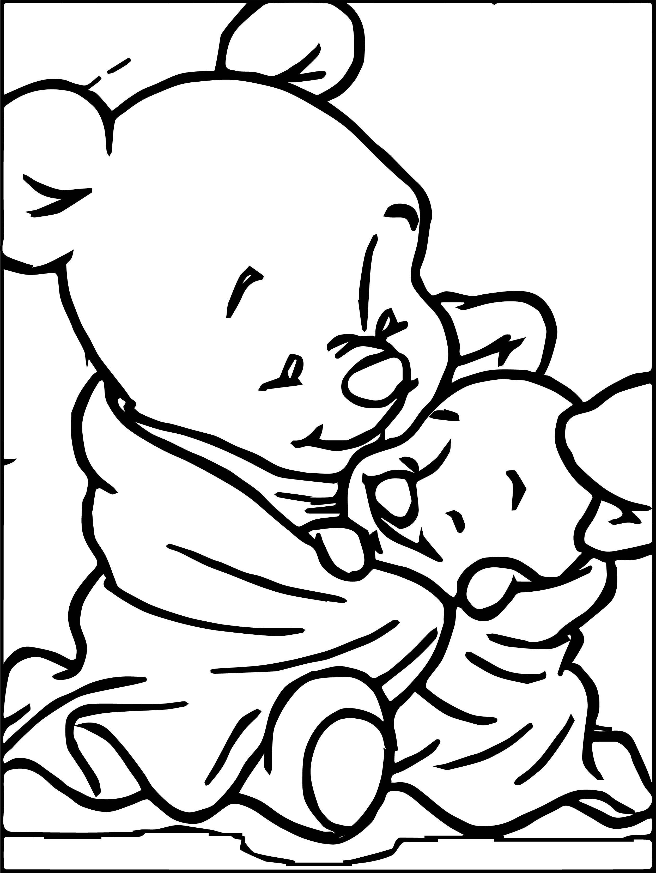 Baby Piglet Winnie The Pooh Coloring Page 21