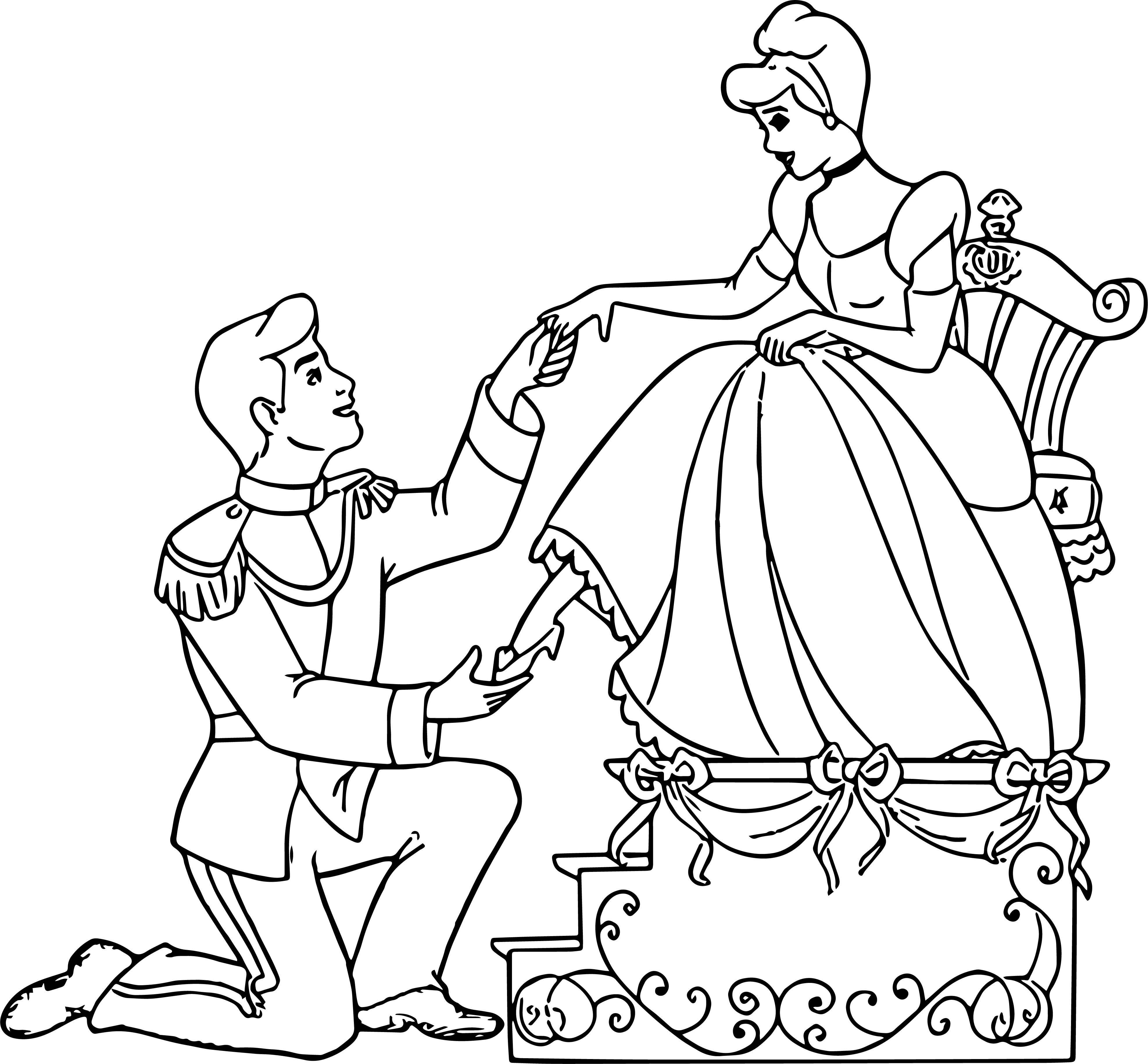 Cinderella Mice And Birds Coloring Pages 28 Auto Electrical Wiring
