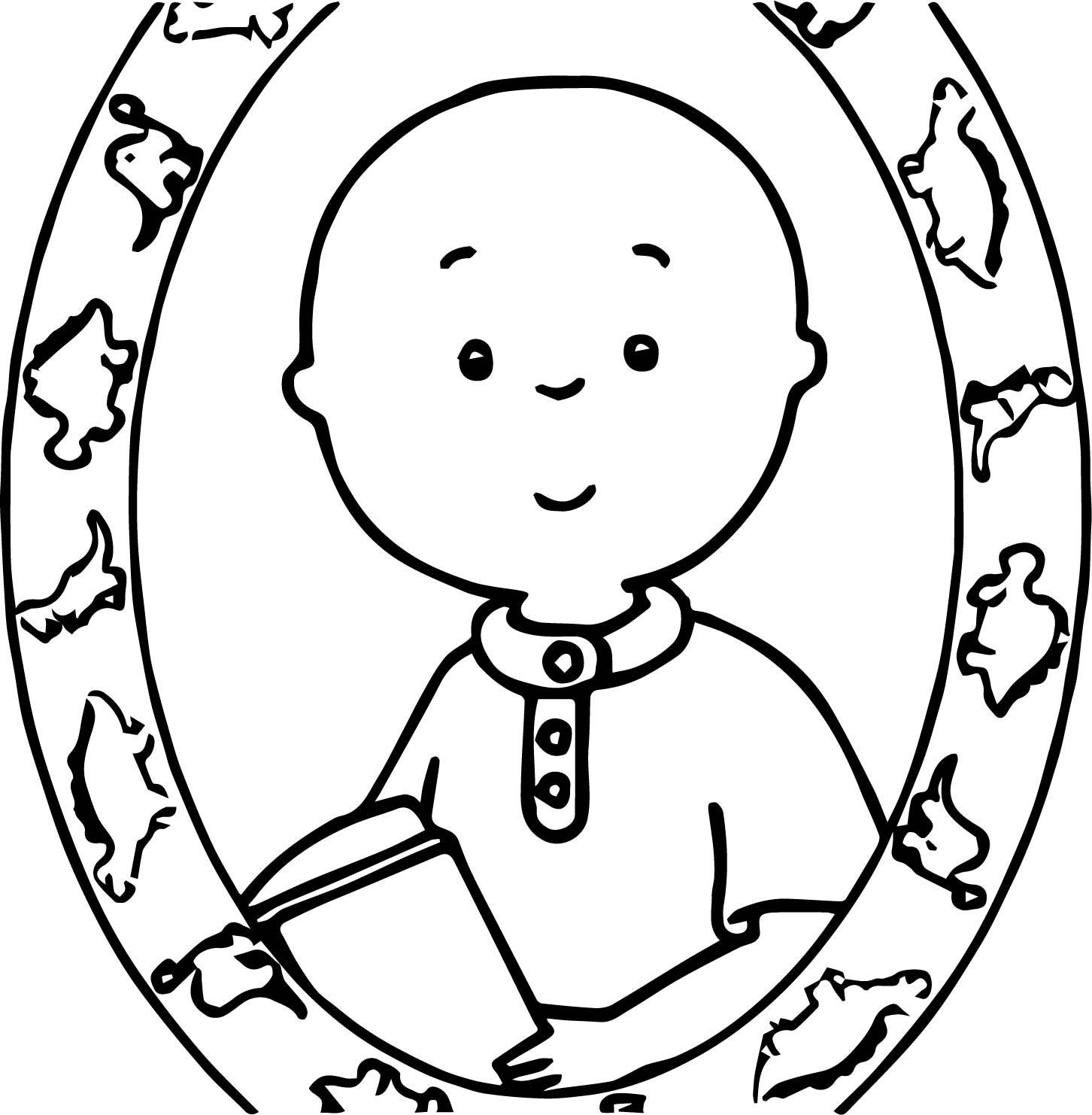 Caillou Coloring Page Wecoloringpage 009