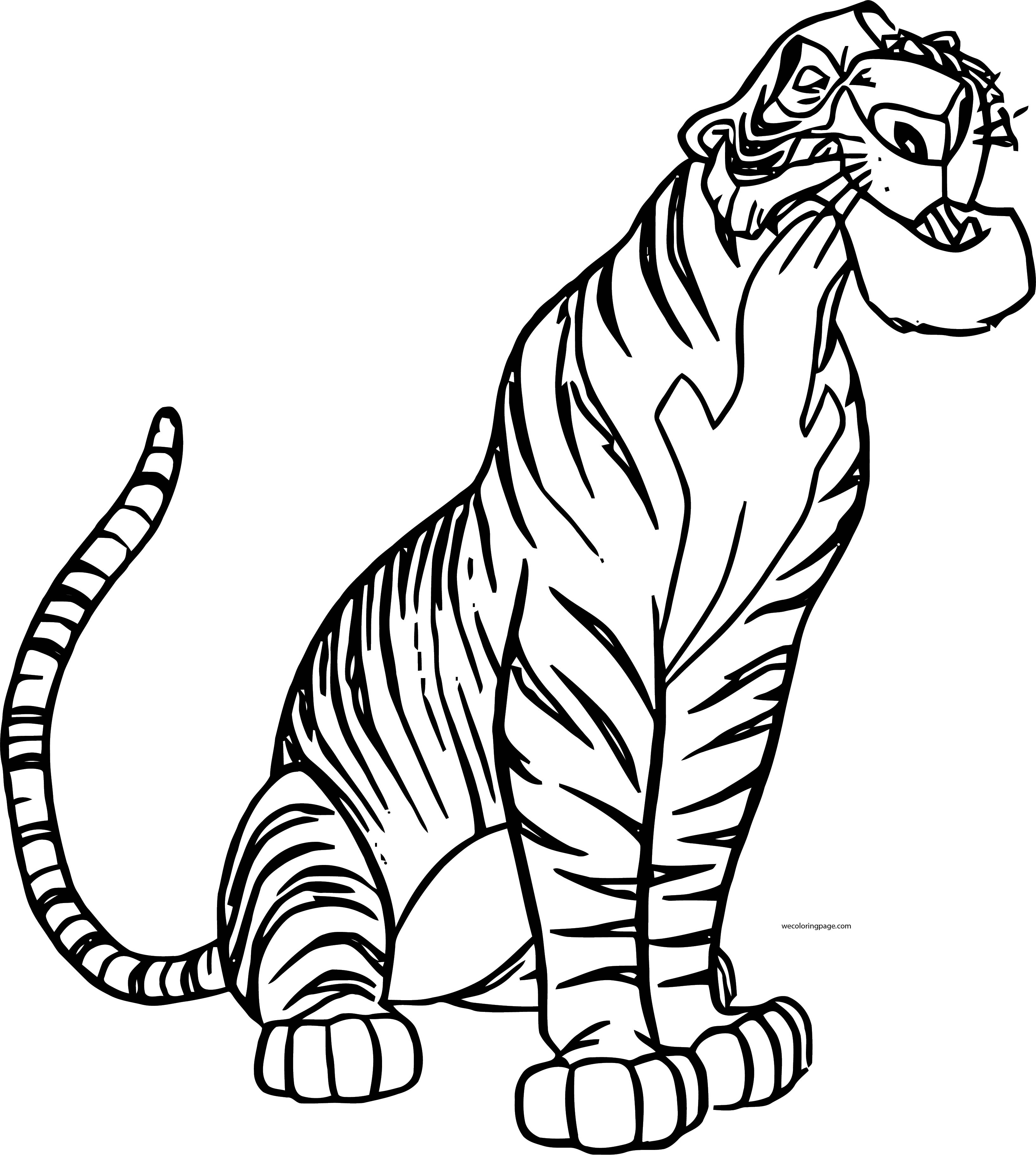 Disney Jungle Book Coloring Book | Jungle Junction Coloring Pages ...