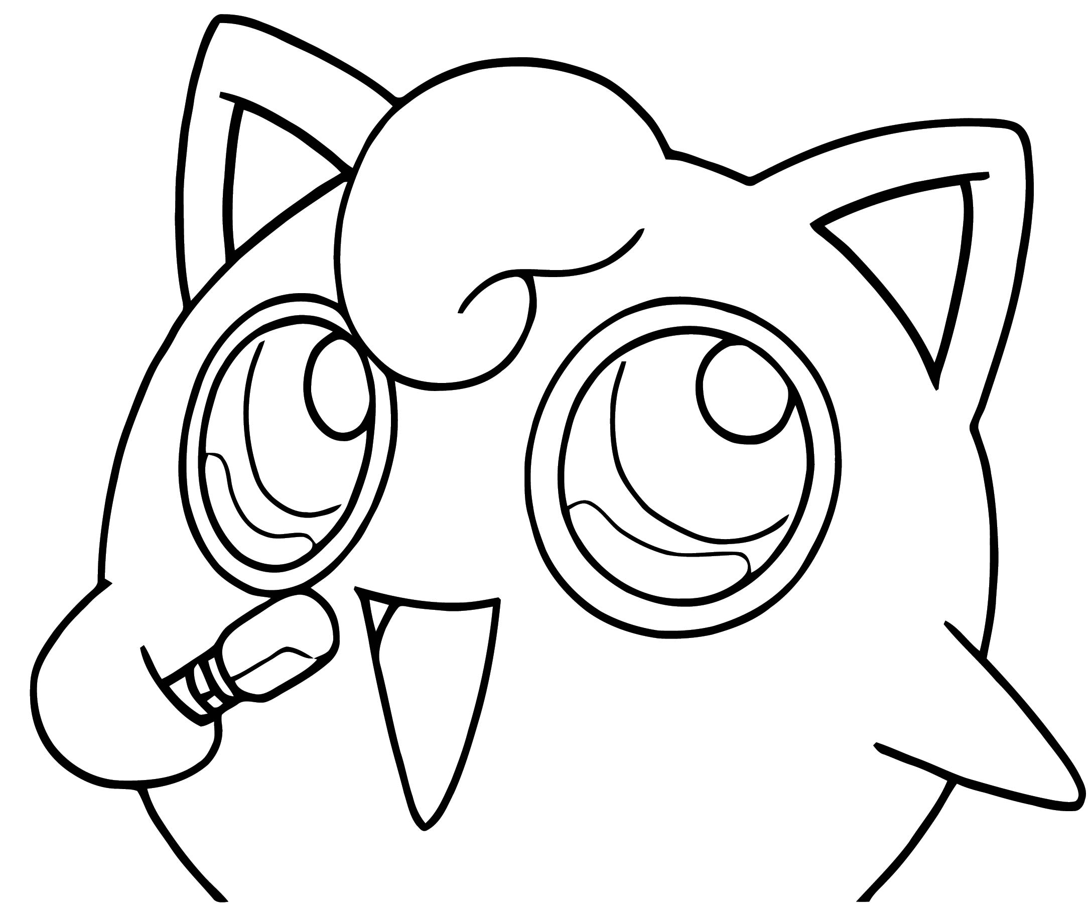 Jigglypuff Coloring Page Arenda Stroy