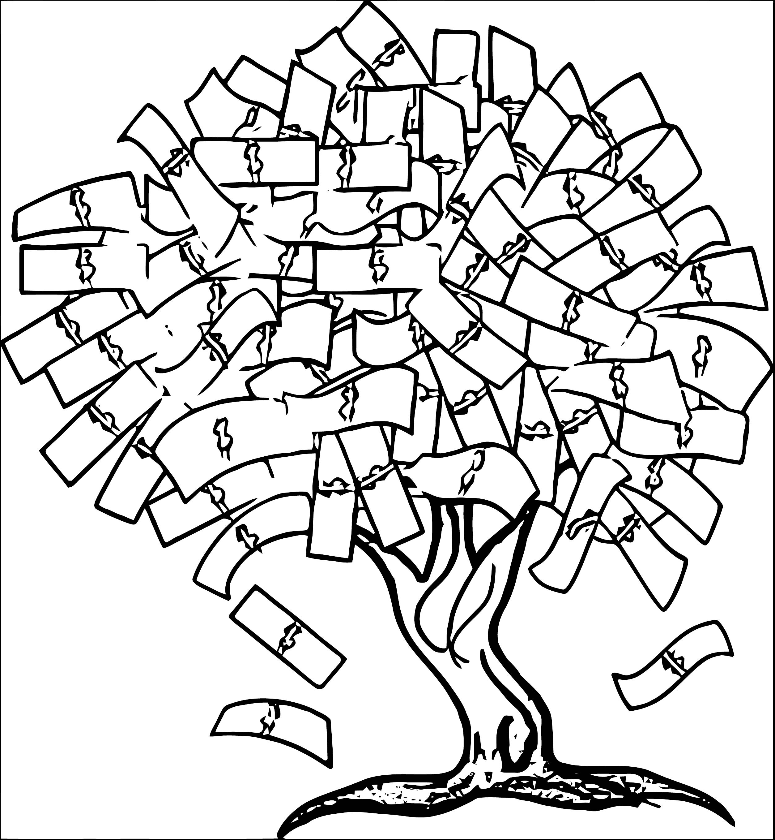 Money Coloring Page 77