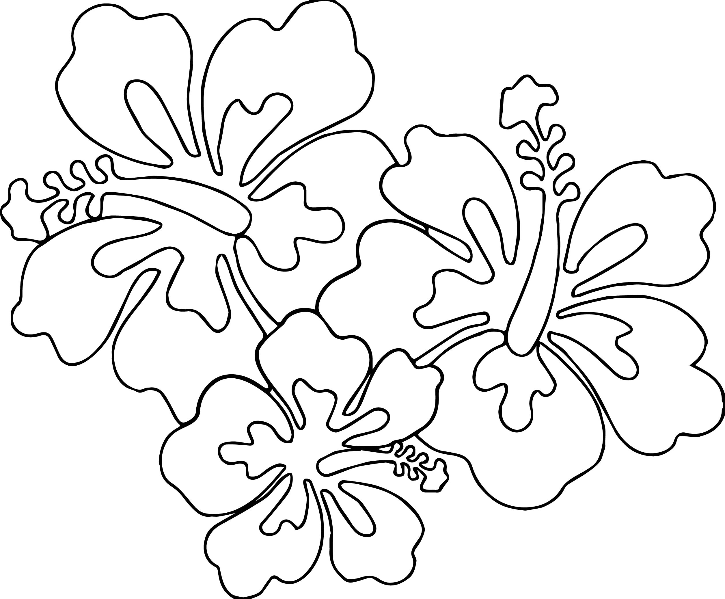 8 Hawaiian Coloring Pages for Kids - Red Ted Art - Make crafting ... | 2074x2511