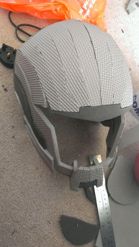 Foam Helmet Pattern : helmet, pattern, Helmet:, Helmet, Pattern