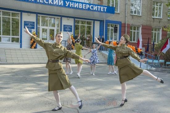 74-ая годовщина Великой Победы в Барнауле