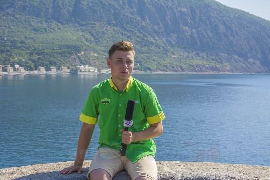 Артек - журналист Влад Плотников