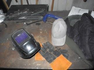Every good welder needs a good helmet, I love my Miller Elite