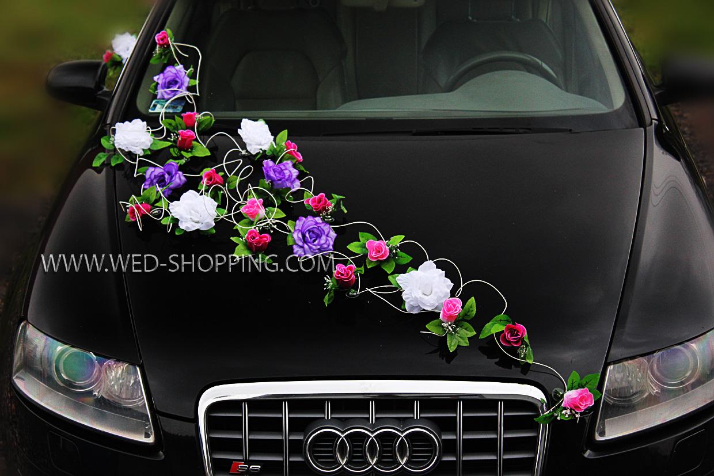Autoschmuck Hochzeit Kosten Hochzeitsauto Blumendekoration Rosen
