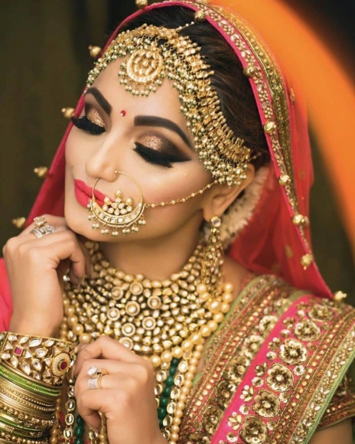 our favorite 51 indian bridal makeup looks – wedabout