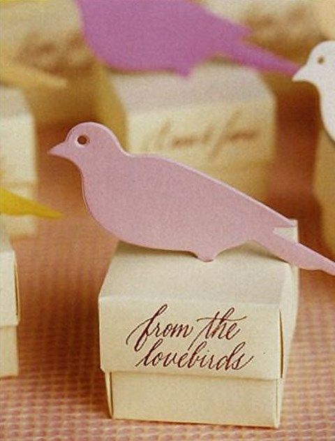bird theme wedding