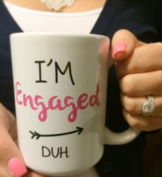 ways to announce your engagement