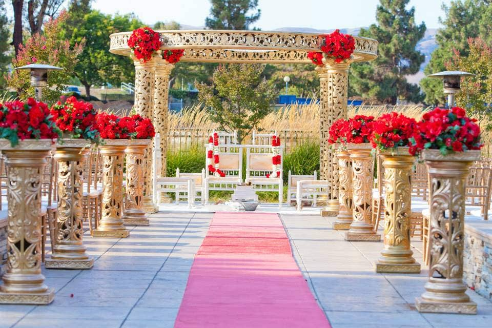 selecting wedding venues in India