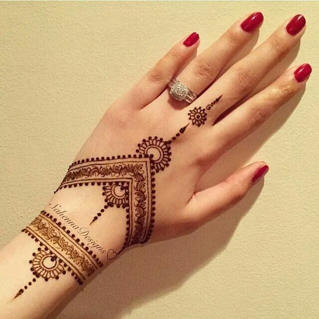 Top Simple Mehndi Designs That Are Awesome Super Easy Wedamor