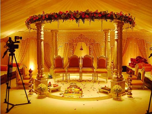 Ethnic Indian Weddings - The Mandap