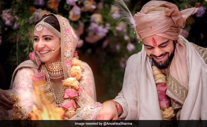 Virat and Anushka tie the knot