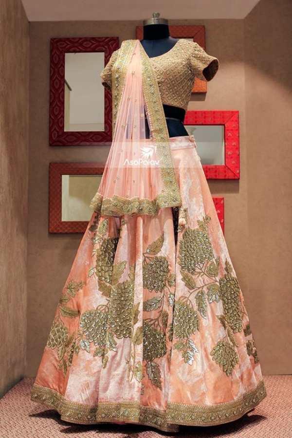 bridal lehengas under 1 lakh