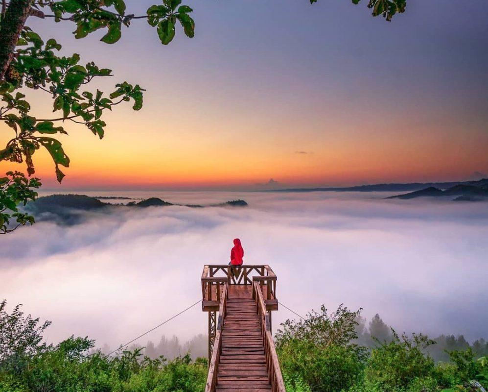 wisata di atas awan jogja