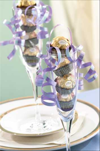 Wedding Crafts Page  Ferrero Rocher Wedding Favors