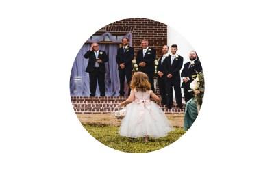Kinderbetreuung an der Hochzeit