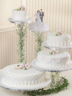 Floating Cake Stand Wedding Cakes : floating, stand, wedding, cakes, Floating, Stand