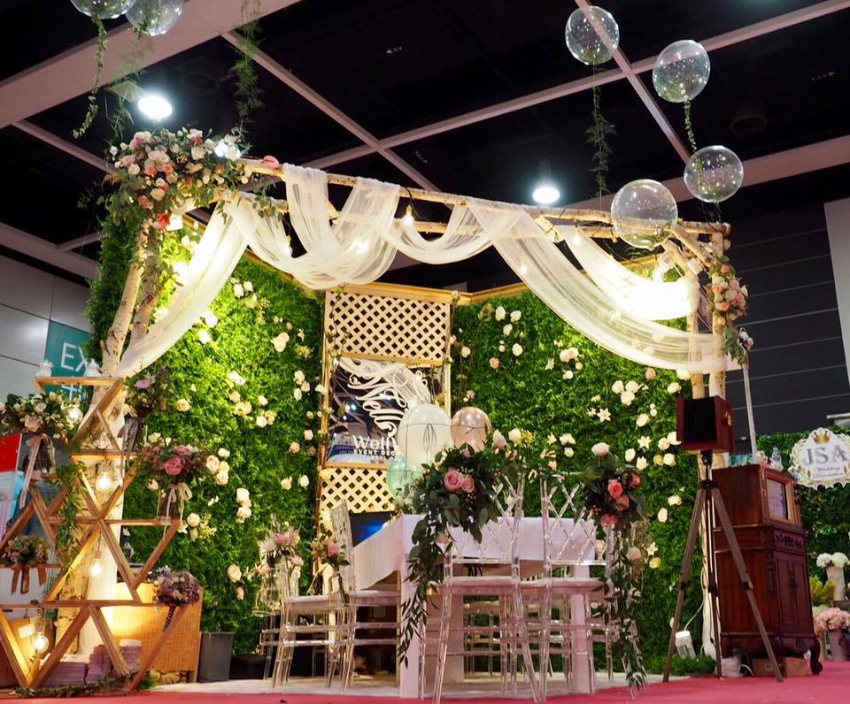 2018 Wedding Expo info / 香港婚展 – Well Well Event Decoration