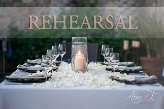 Why do weddings have rehearsal dinners, anyway?