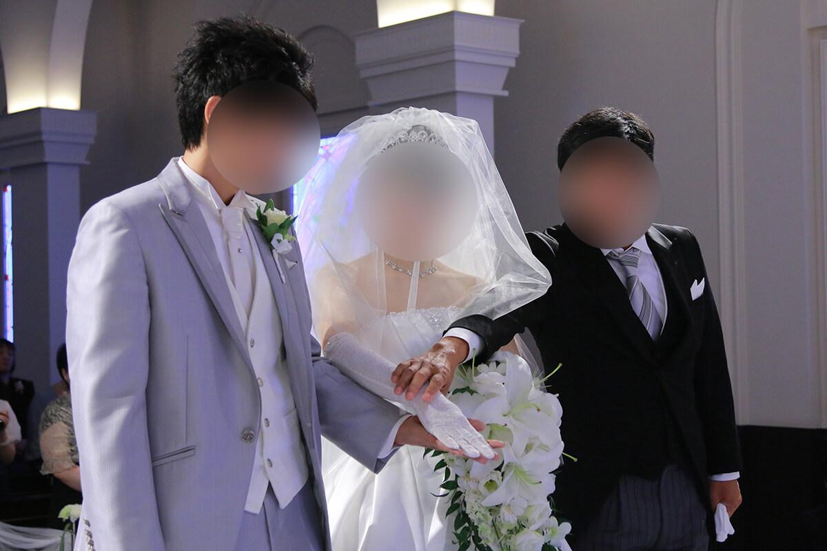 アニヴェルセル 大阪の挙式の儀式