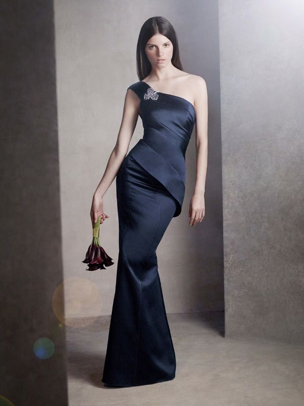 Get Chic Bridesmaids! With White by Vera Wang