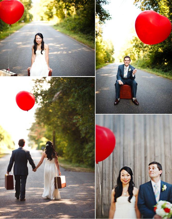 Float Away with Balloon Wedding Inspiration