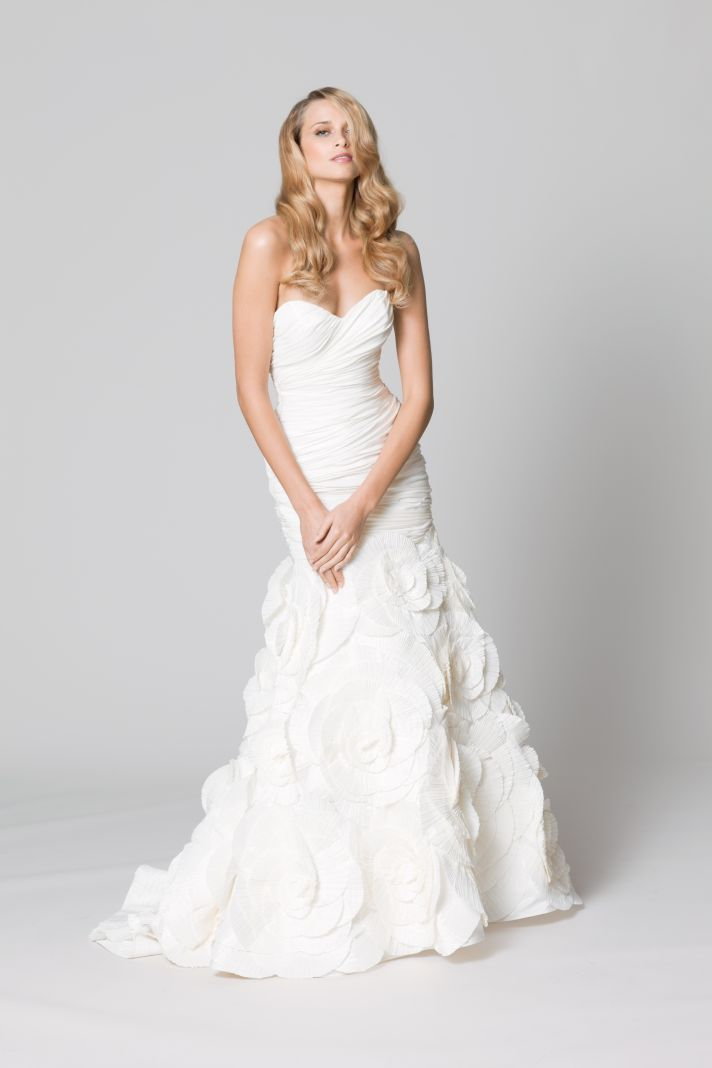 Easy on the Budget Easy on the Eyes WTOO Wedding Dresses by Watters  OneWed