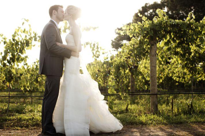 Romantic Winery Wedding at Villa Bellezza Hilary  Nicholas