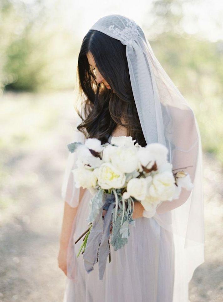Juliet Cap Bridal Veil