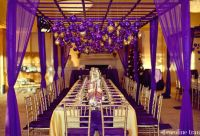 Yellow & Gold Reception Decorations